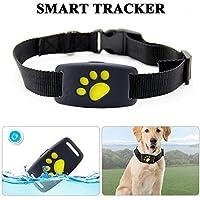 LifeUp Localizador GPS para Perros Perros y Gatos, Localizador Anti-Perdida Anti-Robo de Dispositivos De Alarma con Mando a Distancia, Compatible para teléfono iOS/Android