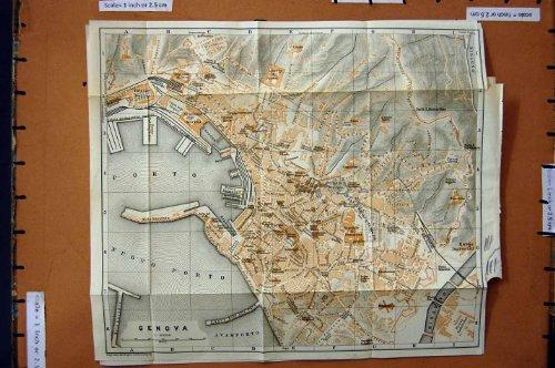 citt-1909-di-pianificazione-della-via-della-mappa-genova-italia-nuovo-oporto