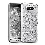 kwmobile LG G5 / G5 SE Hülle - Handyhülle für LG G5 / G5 SE - Handy Case in Silber Transparent