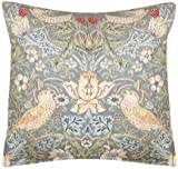 sandersons william morris strawberry thief slate curtain fabric sold per mtr by sanderson s