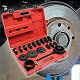 Outil de roulement 24 pièces 55–88 mm Extracteur de roulement pour Automobile avec Traction Avant