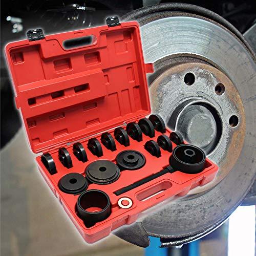 Radlager Werkzeug 24 teiliger Satz 55-88 mm Radlagerabzieher für KFZ mit Vorderradantrieb