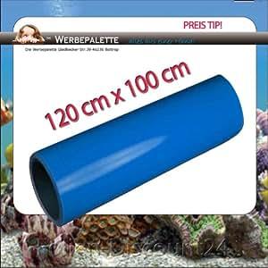 Film pour aquarium terrarium de mer bleu 120 x 100 cm! tOP preistip cm