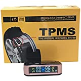 Car, Jeep, SUV Tyre Pressure Monitor,TPMS Colour Gold with External Sensor