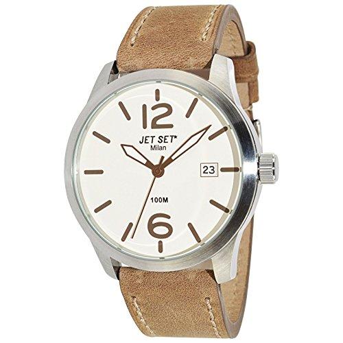 Jet Set Men's Watch Milan brown/silver J63803-656