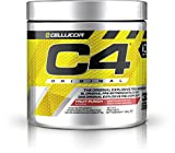 Cellucor, C4 Original Explosive Pre-Workout Supplement, Fruit Punch, 30 Servings