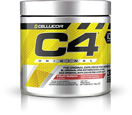 Cellucor - C4 Original - Suplemento explosivo de preentrenamiento - Zumo de frutas - 30 raciones