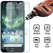 Nokia 7.2 & 6.2 Screen Protector Glass Bubble Free Tempered Glass Guard for Nokia 7.2 & 6.2 by Nice.S