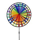 Rhombus Roue Triple Girouette, Multicolore, 49 x 20 x 70 cm