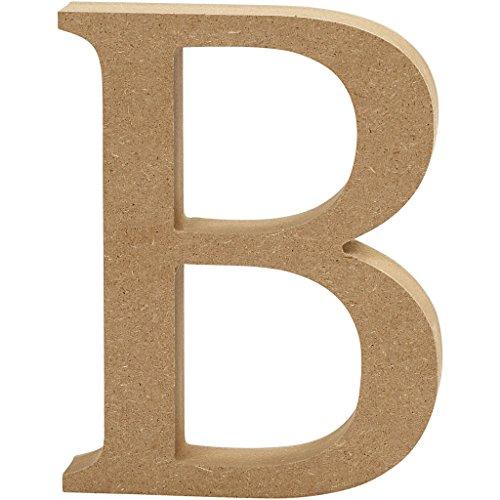 tabe, braun, 13x 2cm (Buchstabe B Craft)