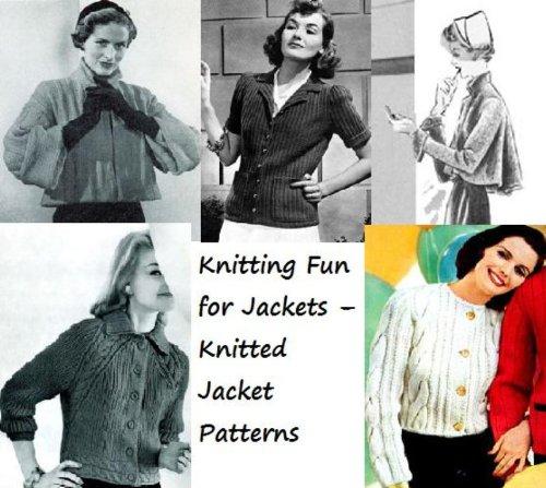 Spaß stricken für Jacken – gestrickte Jacke Muster