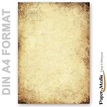 Motivpapier   Briefpapier ALTES PAPIER 20 Blatt DIN A4 90g/m²