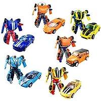 Deformiertes Automoboter-Modell , Verwandeltes Spielzeug , Heroes Rescue Bots Energize Action-Figur (Mit Waffen) Das perfekte Geschenk f/ür Kinder gelb