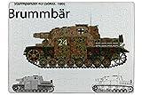 LEotiE SINCE 2004 Puzzle Retro Motiv Panzer SdKfz. 166 Bedruckt 120 Teile