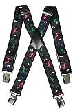 Olata Unisex Bretelle Sci, tutte le età, Sci Design. X-Forme (5-12 Anni)