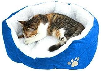 MFEIR Hundebett Katzenbett Baumwolle Pet Bett Kissen für Hunde Katzen Kleintiere
