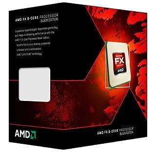 AMD FD8300WMHKBOX Octa-Core Vishera FX-8300 Box Prozessor, Basistakt: 3.30GHz schwarz
