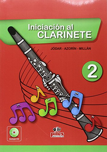 Portada del libro Iniciación al Clarinete 2