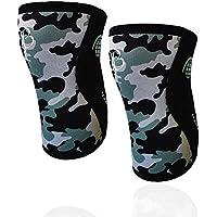 BB BANBROKEN Rodilleras Camo 2.0 (2 unds) - 5mm Knee Sleeves - Halterofilia, Deporte Funcional, Crossfit, Levantamiento de Pesas, Running y Otros Deportes. 1 PAR - Unisex. (S)