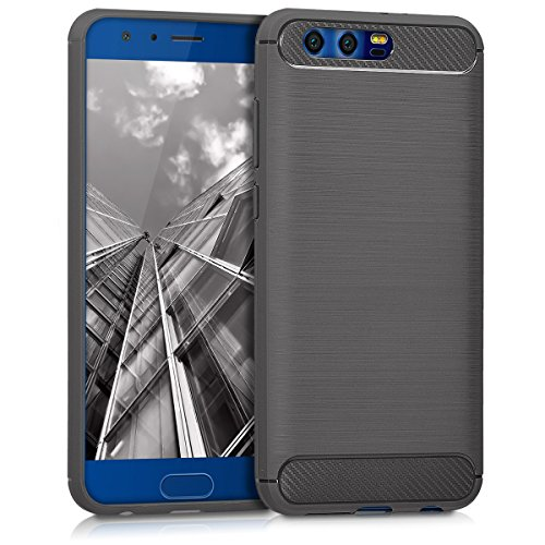 kwmobile Huawei Honor 9/9 Premium Hülle - Handyhülle für Huawei Honor 9/9 Premium - Handy Case in Anthrazit