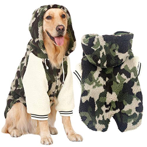 QNJM Ropa De Camuflaje Perros Grandes Labrador Samoyedo