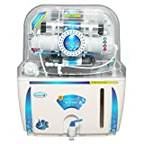 Ruby Ro+Uv+Tds Controller 12 Stage Water Purifier,White & Blue