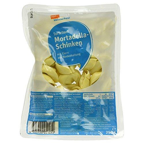 Tegut kleinster Preis Tortelloni Mortadella-Schinken, 250 g (gekühlt)