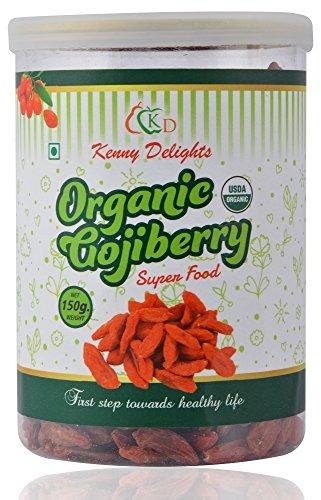 Kenny Delights Certified Organic Goji Berry, 150g