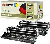 2-er Pack TONER EXPERTE Trommel kompatibel zu DR3400 für Brother DCP-L5500DN L6600DW HL-L5000D L5100DN L5200DW L5200DWT L6300DW L6300DWT L6400DW L6400DWT MFC-L5700DN L5750DW L6800DW L6900DW
