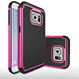 Roar Apple iPhone 6 6S Hülle Silikon Handyhülle/Schutzhülle/Case - Outdoor Handyschale - TPU Schutz Bumper f. Apple iPhone 6 6S - Pink