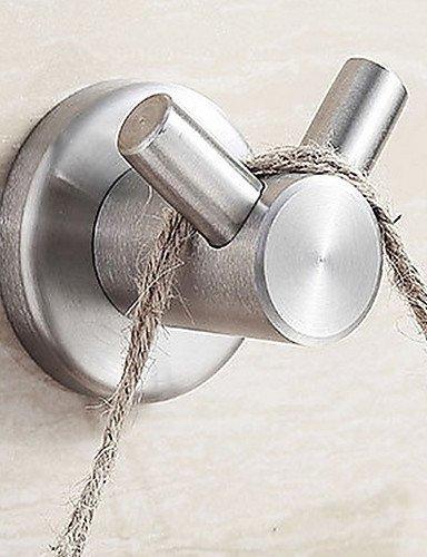 KHSKX il bagno in acciaio inox satinato appendiabiti solido (Dan
