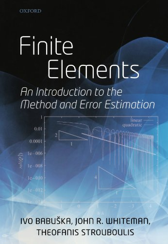 Finite Elements: An Introduction to the Method and Error Estimation
