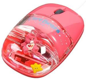 Bisounours (Care Bears) souris optique souris d'aqua rouge CBMM-259-RD (japon importation)