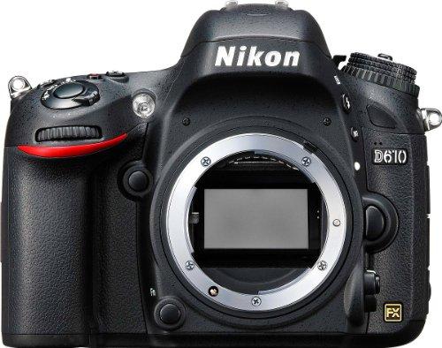 Nikon-D610-Fotocamera-Reflex-Digitale-243-Megapixel-LCD-32-Pollici-SD-8-GB-Premium-Lexar-Nero