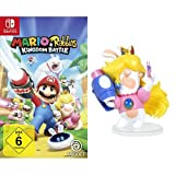 Mario & Rabbids Kingdom Battle – [Nintendo Switch] + Figur Rabbid Peach (8 cm) (Product Bundle)