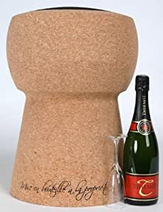 XL Boom - Tabouret bouchon de Champagne Extralarge
