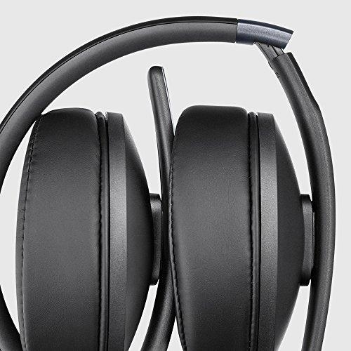 Sennheiser HD 4.20s Around-Ear Headphones (Black)