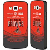 Official NFL Cleveland Browns Versus 2017 London Games Teams Black Aluminium Bumper Slider Case for Samsung Galaxy Grand 2