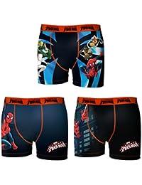 Lot 3 Boxers Baby Spiderman