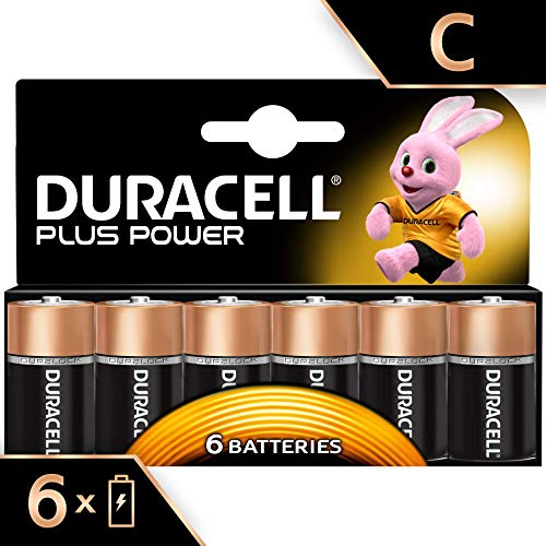 Duracell Plus Power Type C Alkal...