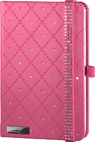 lanybook-112-9974896-diamond-carnet-de-notes-format-a6-192-pages-blanches-couverture-rigide-avec-poc