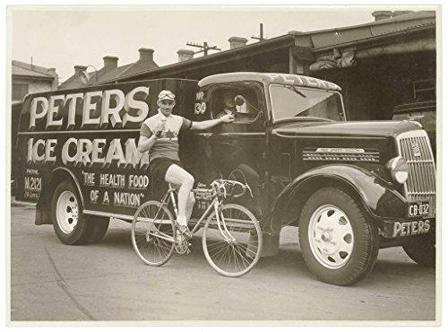 poster-hubert-opperman-eating-ice-cream-next-peters-ice-cream-reo-truck-1936-sam-hood-format-photogr