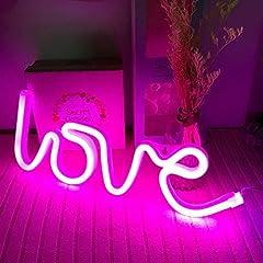 Idea Regalo - twentyfeet lampada neon led Love LED lampada a batteria per bambini/adulti 35x 13x 2cm