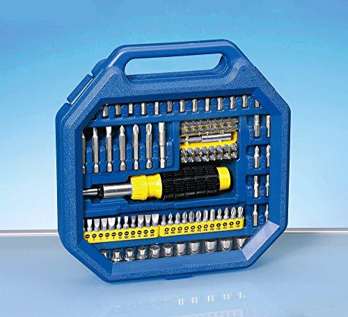 Preisvergleich Produktbild Schrauberset 100 Teilig Schraubenzieher Werkzeugkoffer Bit Set Bitsatz Werkzeug