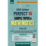 Perfect 15 Sample Papers in Mathematics- XII (As per Latest CBSE Pattern for 2021 CBSE Board Examinations)