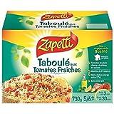Zapetti taboulé aux tomates fraîches et huile d'olive 730g - Livraison Gratuite En France - Prix Par Unité