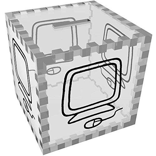 Azeeda 'Ordenador Ratón' Caja Dinero / Hucha MB00050561