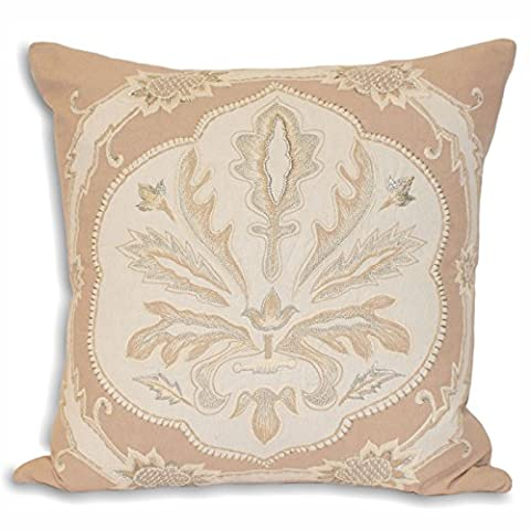 Riva Home French Collection Margaux - Housse de coussin (45x45cm) (Taupe)