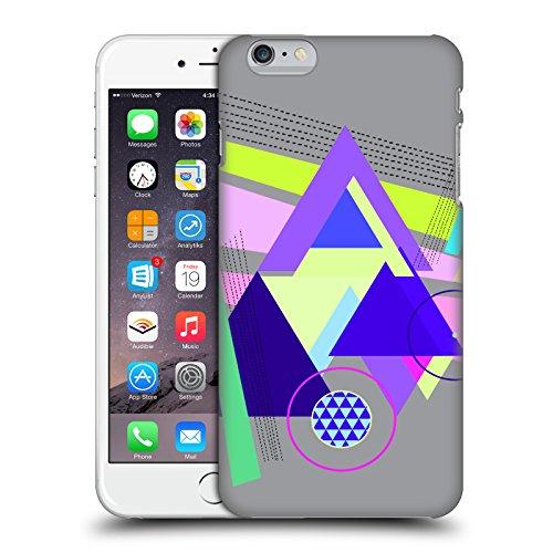 Offizielle Haroulita Weltraum Nebel Fantasy 2 Ruckseite Hülle für Apple iPhone 5 / 5s / SE Dreiecke Muster
