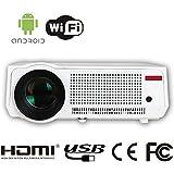 HTP Cinéma Vidéoprojecteur LCD Fonction 2800 Lumens 1280 x 800 résolution native, peut soutenir 800p Videoprojecteur Full HD LED